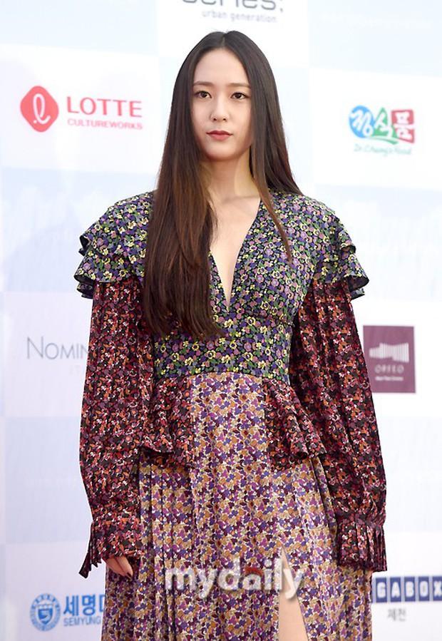 Thảm đỏ quy tụ dàn sao Hàn quyền lực: Yoon Eun Hye trở lại xuất sắc, Krystal đẹp ngút ngàn bất chấp đầm sến sẩm - Ảnh 9.