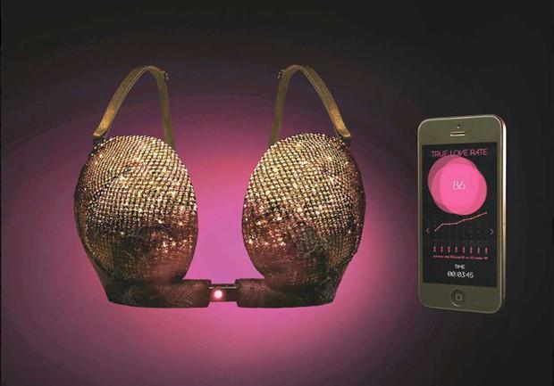 Áo ngực thông minh của chị em Nhật Bản: Gặp đúng crush mới bung khóa, một khi không thích giật thế nào cũng không ra! - Ảnh 1.