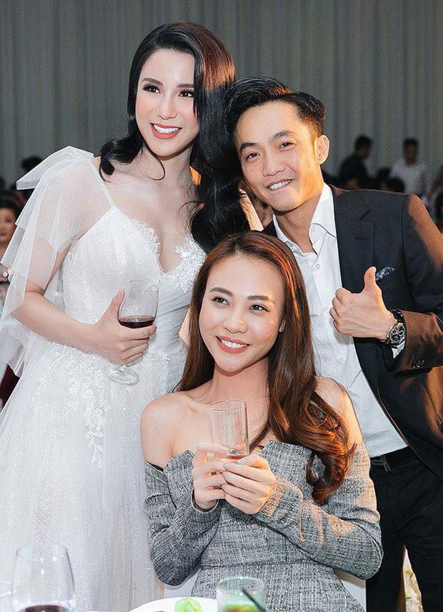 Sao Việt thay váy cưới như chạy show: Đàm Thu Trang đổi liền 3 bộ nhưng còn có người thay liền 5 bộ chỉ trong 1 ngày - Ảnh 14.