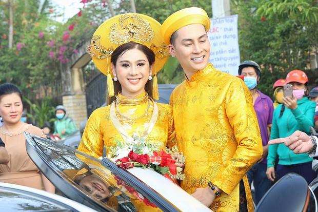 Sao Việt thay váy cưới như chạy show: Đàm Thu Trang đổi liền 3 bộ nhưng còn có người thay liền 5 bộ chỉ trong 1 ngày - Ảnh 15.