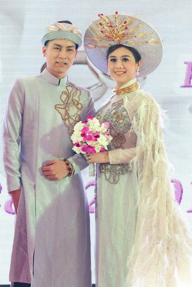 Sao Việt thay váy cưới như chạy show: Đàm Thu Trang đổi liền 3 bộ nhưng còn có người thay liền 5 bộ chỉ trong 1 ngày - Ảnh 18.