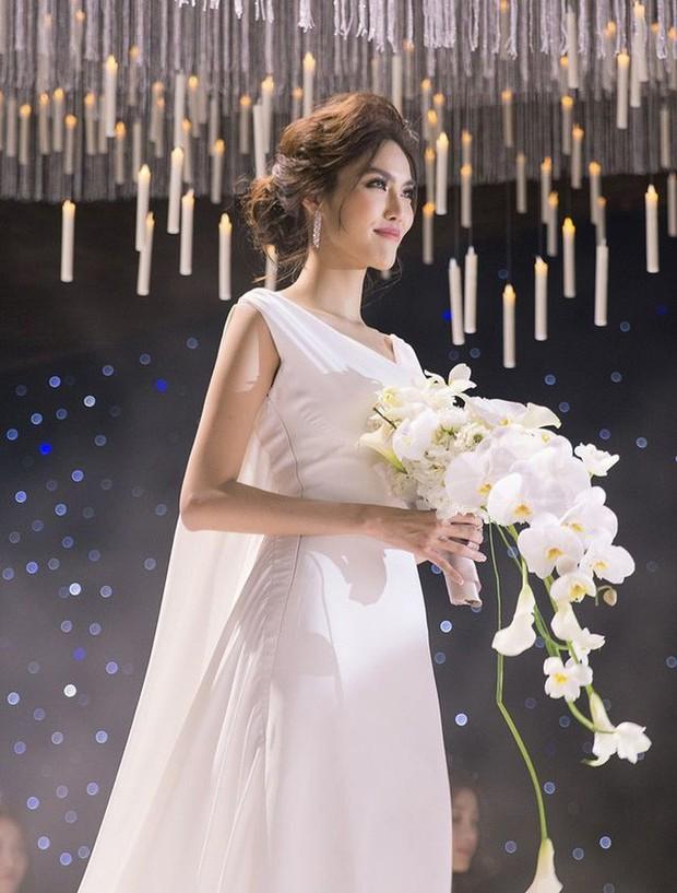 Sao Việt thay váy cưới như chạy show: Đàm Thu Trang đổi liền 3 bộ nhưng còn có người thay liền 5 bộ chỉ trong 1 ngày - Ảnh 4.