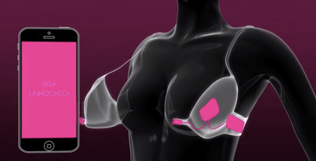 Áo ngực thông minh của chị em Nhật Bản: Gặp đúng crush mới bung khóa, một khi không thích giật thế nào cũng không ra! - Ảnh 4.