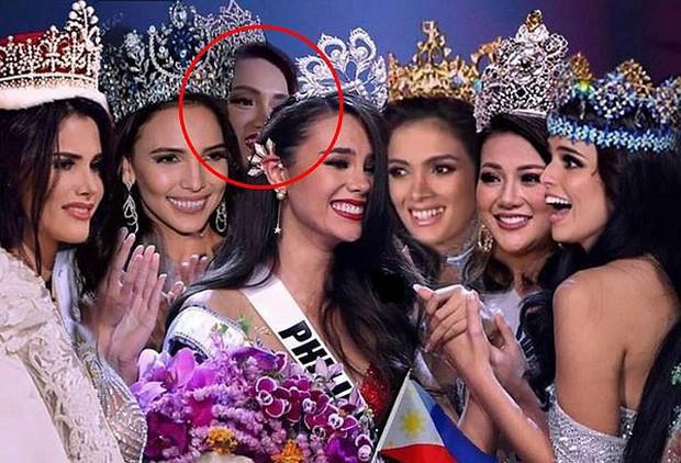 Missosology xoá ảnh, công khai xin lỗi Hương Giang sau ồn ào đăng ảnh mỹ nhân Việt lấp ló giữa khung hình toàn Hoa hậu - Ảnh 1.