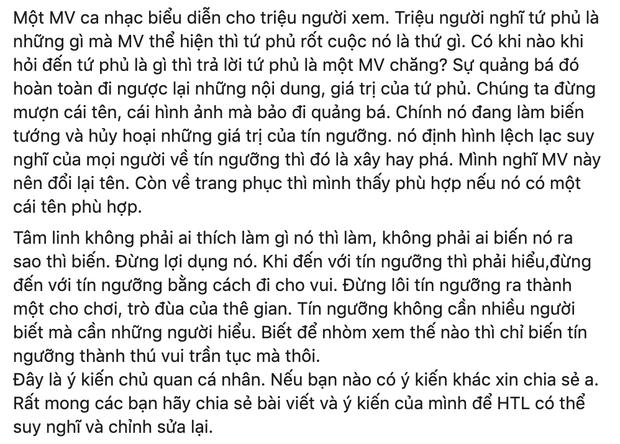 Những người hiểu biết tín ngưỡng thờ Mẫu nói gì về MV Tứ Phủ của Hoàng Thùy Linh? - Ảnh 5.