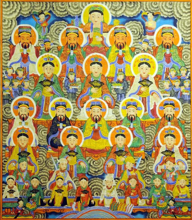 Giải mã Tứ Phủ của Hoàng Thùy Linh: những biểu tượng thiêng liêng của tín ngưỡng thờ Mẫu - Ảnh 3.