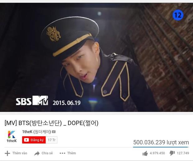 Cột mốc MV nửa tỉ view: BLACKPINK tiếp tục bị BTS cho ngửi khói về số lượng - Ảnh 1.