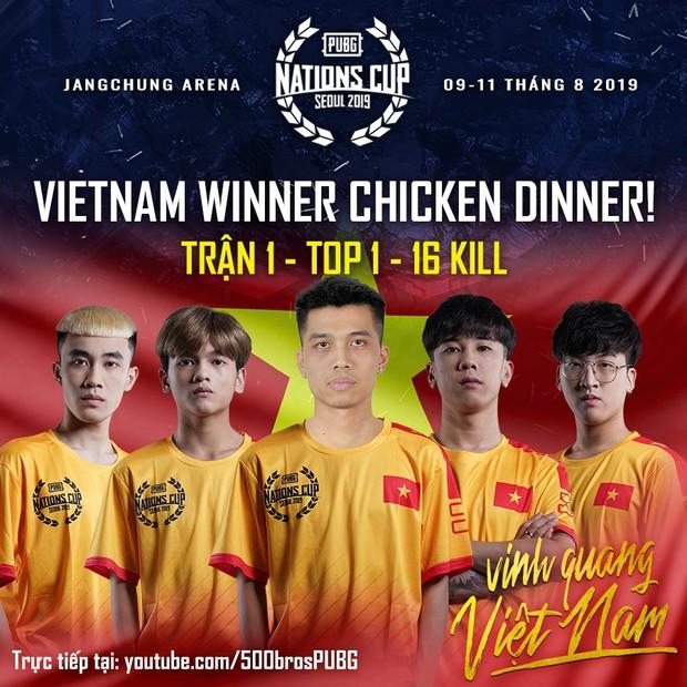 HOT: Thi đấu cực kỳ xuất sắc, đội tuyển PUBG Việt Nam giành chiến thắng thuyết phục trận ra quân PUBG Nations Cup trên đất Hàn - Ảnh 6.
