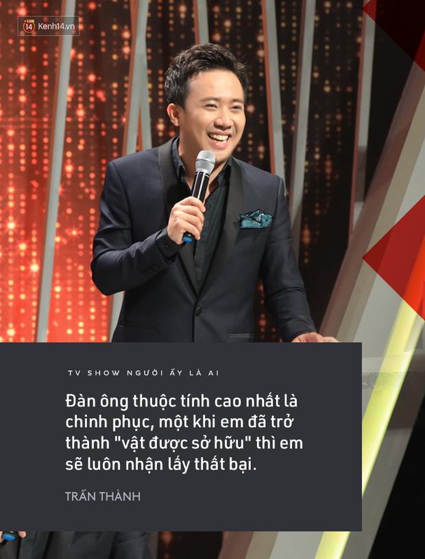 Suốt mùa 2 Người ấy là ai, Trấn Thành & Hương Giang đã để lại vô số phát ngôn ấn tượng! - Ảnh 3.