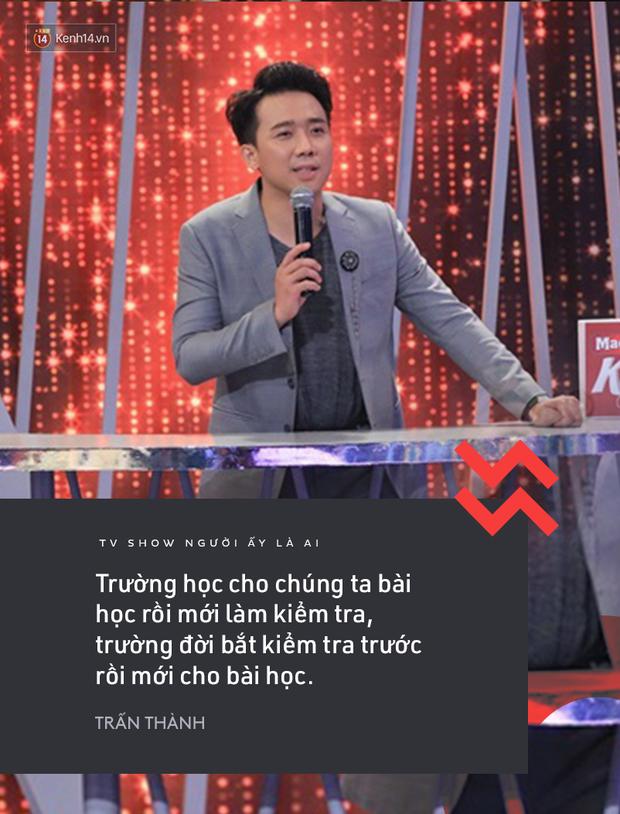 Suốt mùa 2 Người ấy là ai, Trấn Thành & Hương Giang đã để lại vô số phát ngôn ấn tượng! - Ảnh 4.