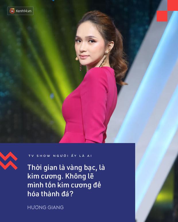 Suốt mùa 2 Người ấy là ai, Trấn Thành & Hương Giang đã để lại vô số phát ngôn ấn tượng! - Ảnh 10.