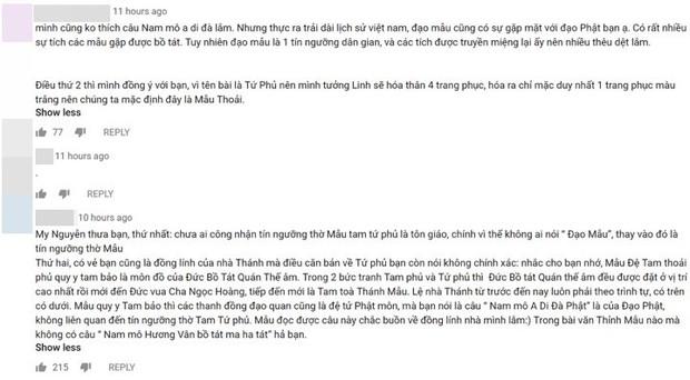 Một câu hát trong Tứ Phủ của Hoàng Thuỳ Linh làm dấy lên tranh cãi trong cộng đồng mạng - Ảnh 3.
