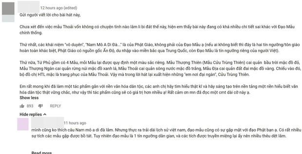 Một câu hát trong Tứ Phủ của Hoàng Thuỳ Linh làm dấy lên tranh cãi trong cộng đồng mạng - Ảnh 2.