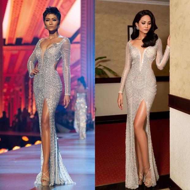 Diện lại váy từ 1 năm trước, HHen Niê khiến dân tình cân não: tóc ngắn cá tính hay tóc dài dịu dàng mới hợp cô nhất? - Ảnh 3.