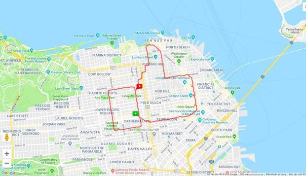 Kinh ngạc thanh niên dành cả thanh xuân để chạy vẽ hình lên ứng dụng bản đồ, kỷ lục 6 tiếng ngốn liền 46km - Ảnh 7.