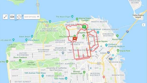 Kinh ngạc thanh niên dành cả thanh xuân để chạy vẽ hình lên ứng dụng bản đồ, kỷ lục 6 tiếng ngốn liền 46km - Ảnh 5.