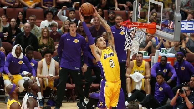 Kẻ ở lại Kyle Kuzma khẳng định sẽ trở thành ngôi sao thứ 3 của Lakers - Ảnh 2.