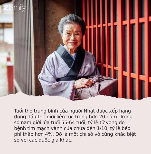 """Công thức """"sống thọ trăm tuổi"""" của người Nhật chỉ gói gọn trong 4 từ: Rất dễ nhưng hầu hết người Việt đều bỏ qua - Ảnh 1."""