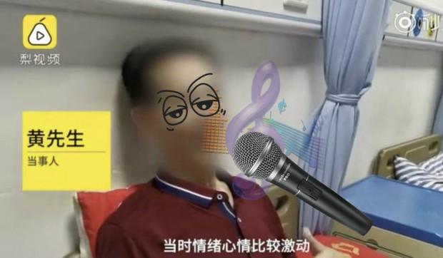 Cụ ông 65 tuổi bị xẹp phổi suýt chết sau khi hát karaoke liền tù tì 10 bài giọng cao - Ảnh 1.
