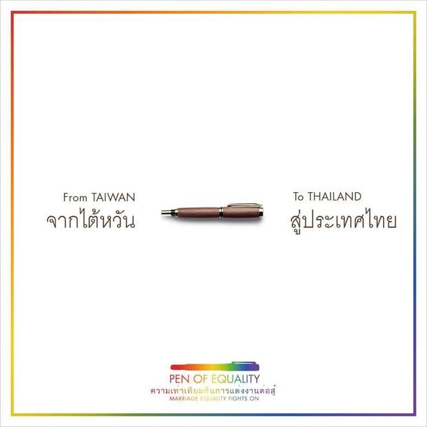 """Chiếc """"bút bình đẳng"""" và thông điệp từ Đài Loan gửi tới châu Á khiến nhiều người xúc động - Ảnh 3."""