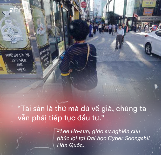 Người già ở Hàn Quốc: Hi sinh tất cả cho con cái, đến khi về hưu, sống trong cô đơn và chết trong cô độc - Ảnh 7.