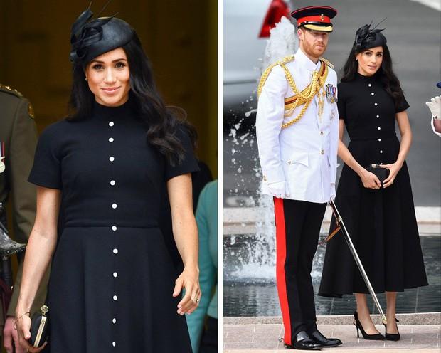 Những trang phục ẩn chứa mật mã của hoàng gia Anh: Công nương Kate đầy tinh tế nhưng ấn tượng nhất là chiếc váy báo thù của Diana - Ảnh 3.