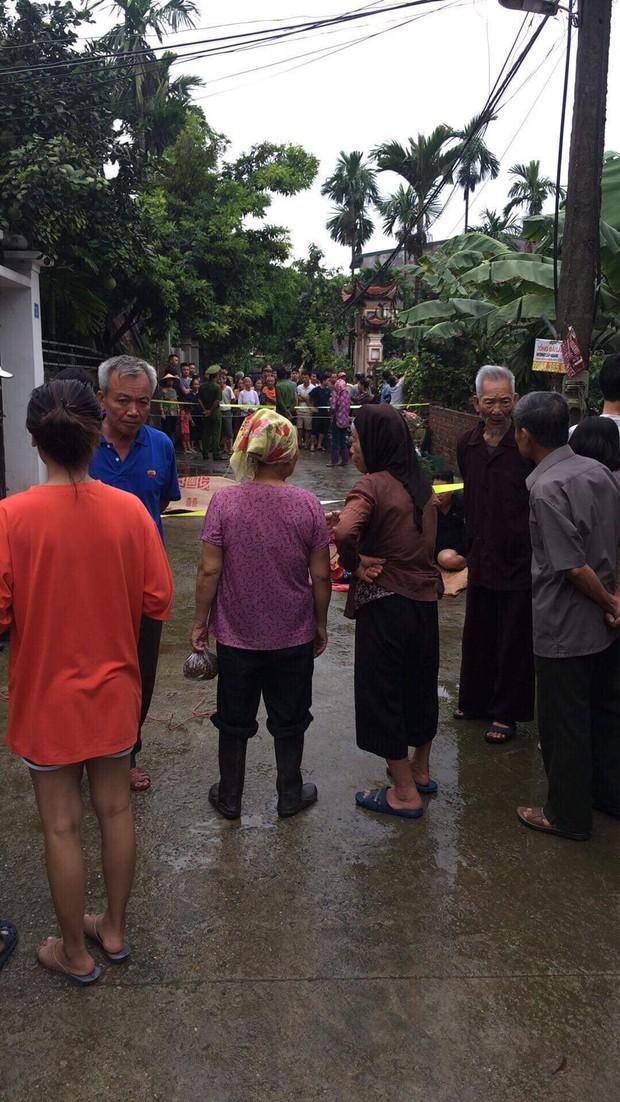 Thảm án kinh hoàng ở Hà Nội: Người đàn ông vác dao chém cả gia đình em trai khiến 2 người chết, 3 người cấp cứu - Ảnh 2.