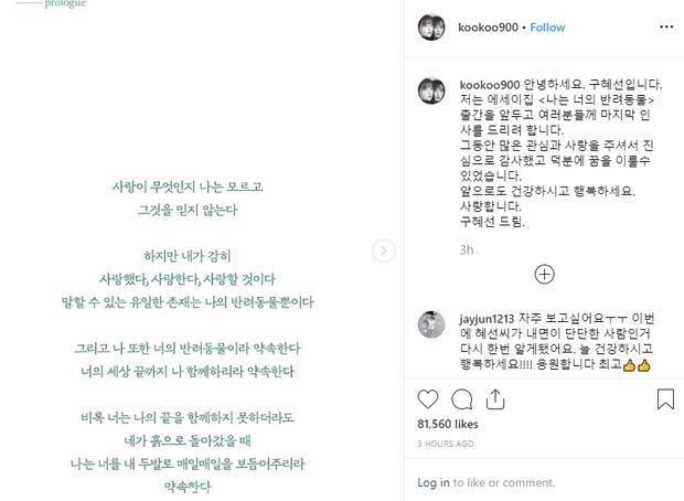 NÓNG: Goo Hye Sun tuyên bố giải nghệ giữa lùm xùm ly hôn với Ahn Jae Hyun, cả xứ Hàn đang tán loạn? - Ảnh 1.