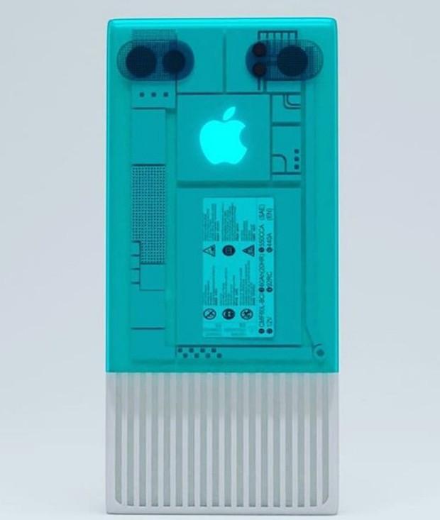 Nếu Apple làm iPhone hồi thập niên 80, trông nó sẽ cục mịch như thế này đây - Ảnh 5.