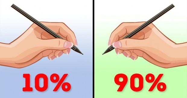 Chỉ 10% dân số thuận tay trái và đây là lý do cùng những lợi thế cực kỳ đặc biệt bạn sẽ nhận được khi thuộc về phe thiểu số - Ảnh 1.