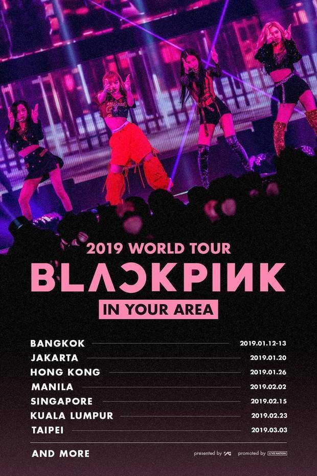 """""""Đọ"""" doanh thu concert của 3 nhóm Kpop ở các nước: BLACKPINK bất ngờ thua 1 boygroup bị chê """"flop"""" ở Mỹ - Ảnh 3."""