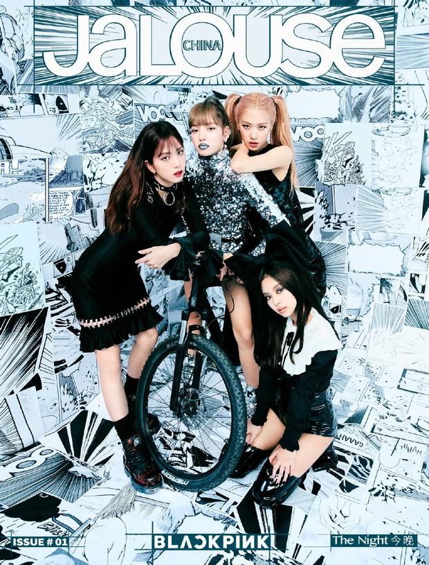 Nín thở trước bộ ảnh mới của BLACKPINK: Visual quá đỉnh, Jennie không còn là center và choáng nhất là Jisoo - Ảnh 1.
