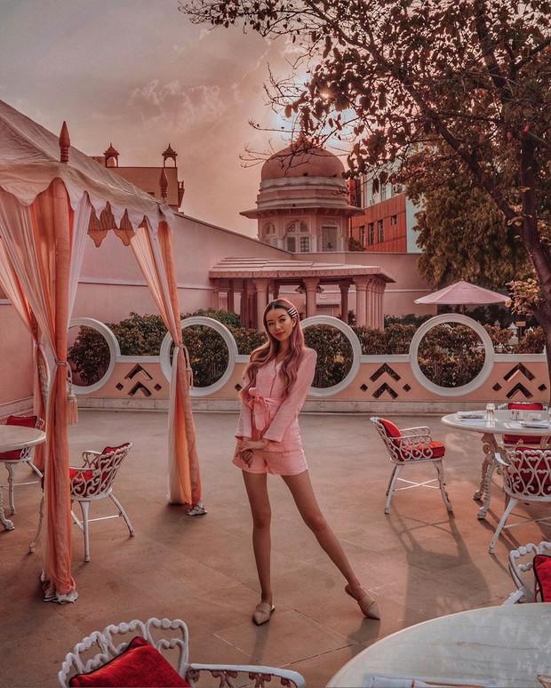 """Nữ travel blogger bị vợ 2 Minh Nhựa """"mượn"""" ảnh để """"sống ảo"""": Hơn 1,3 triệu người theo dõi trên Instagram, hàng xịn nó phải khác! - Ảnh 14."""