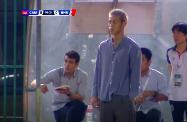 Xót xa nhìn huyền thoại bóng đá Nhật Bản xuống sắc trầm trọng sau vài tháng làm HLV đội tuyển Campuchia - Ảnh 1.
