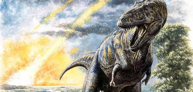 Ngày cuối cùng của khủng long: Đây là những gì đã xảy ra vào cái ngày thiên thạch khổng lồ rơi xuống Trái đất khiến khủng long bị tuyệt diệt - Ảnh 1.
