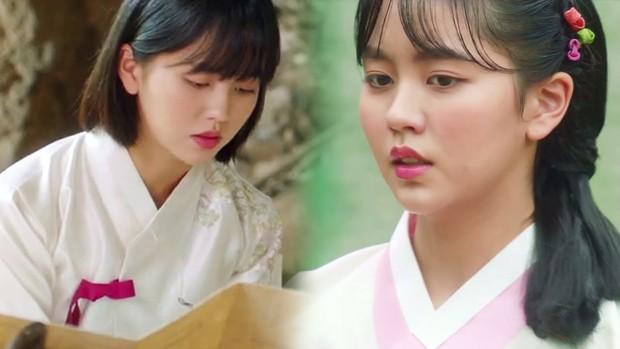 KBS tung teaser Tiểu Sử Chàng Nok Du minh oan cho Kim So Hyun: Hoá ra tạo hình trên hiện đại dưới truyền thống là có lí do cả? - Ảnh 2.
