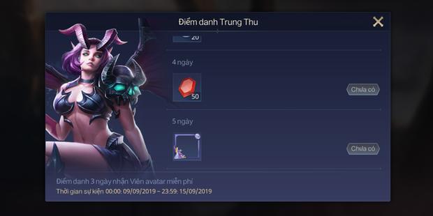 Liên Quân Mobile: Garena tặng cả server Khung viền Xử Nữ, hàng chục mảnh tướng/skin dịp Trung thu - Ảnh 2.