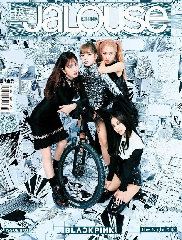 Black Pink đồng loạt đổi cách makeup, Jennie bất ngờ bị 3 thành viên còn lại lấn át - Ảnh 2.