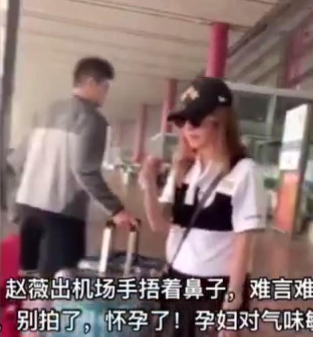 Giữa ồn ào ly hôn, Triệu Vy lại mang thai con thứ 2 cho chồng đại gia? - Ảnh 2.