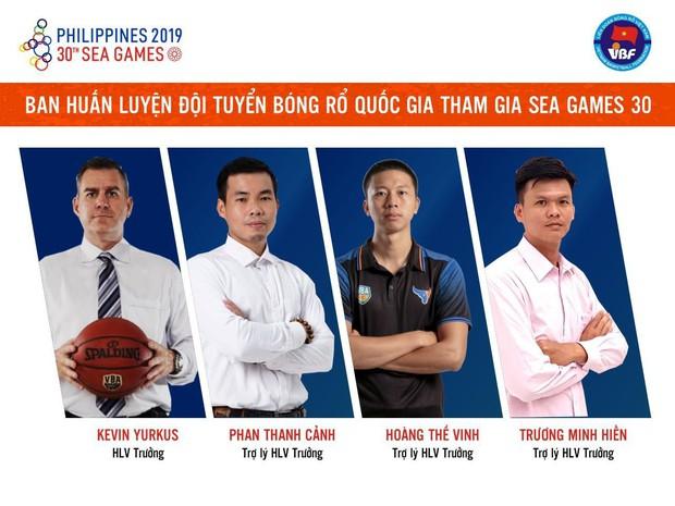 Liên đoàn Bóng rổ Việt Nam công bố thành phần ban huấn luyện đội tuyển quốc gia tham dự SEA Games 30 - Ảnh 2.
