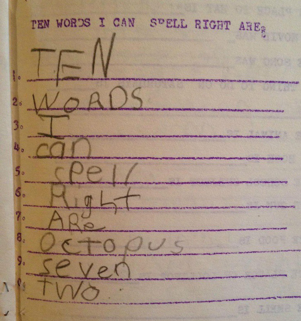 """20 câu trả lời bá đạo trong bài kiểm tra chỉ những đứa trẻ """"thiên tài"""" mới có thể nghĩ ra - Ảnh 11."""