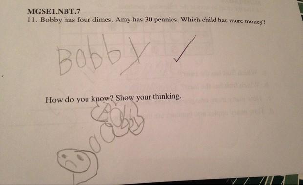 """20 câu trả lời bá đạo trong bài kiểm tra chỉ những đứa trẻ """"thiên tài"""" mới có thể nghĩ ra - Ảnh 13."""