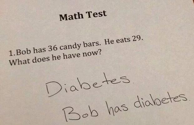 """20 câu trả lời bá đạo trong bài kiểm tra chỉ những đứa trẻ """"thiên tài"""" mới có thể nghĩ ra - Ảnh 14."""