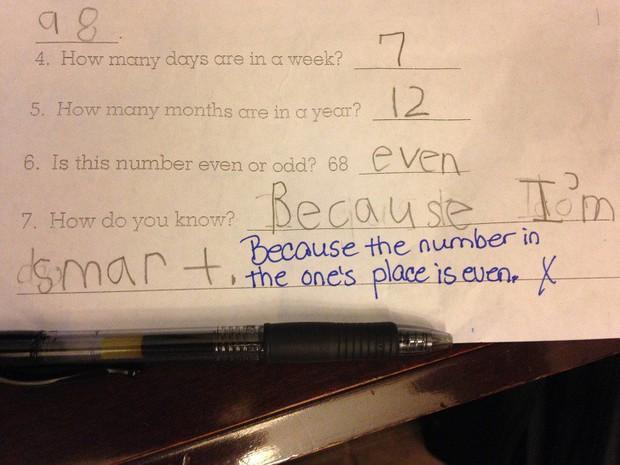 """20 câu trả lời bá đạo trong bài kiểm tra chỉ những đứa trẻ """"thiên tài"""" mới có thể nghĩ ra - Ảnh 18."""