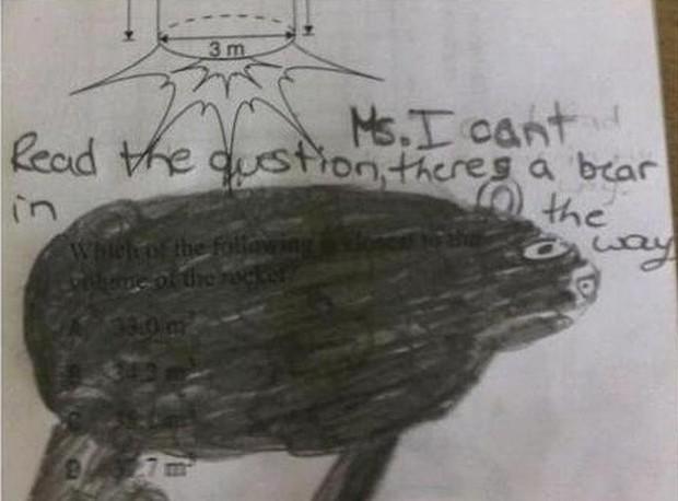 """20 câu trả lời bá đạo trong bài kiểm tra chỉ những đứa trẻ """"thiên tài"""" mới có thể nghĩ ra - Ảnh 20."""