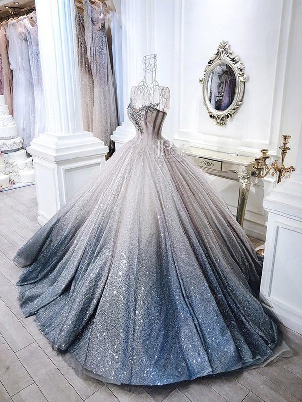 3 bộ váy cưới trị giá 700 triệu của ái nữ nhà Minh Nhựa: Áo dài có thể tiết kiệm nhưng váy cưới phải xa hoa bậc nhất - Ảnh 7.
