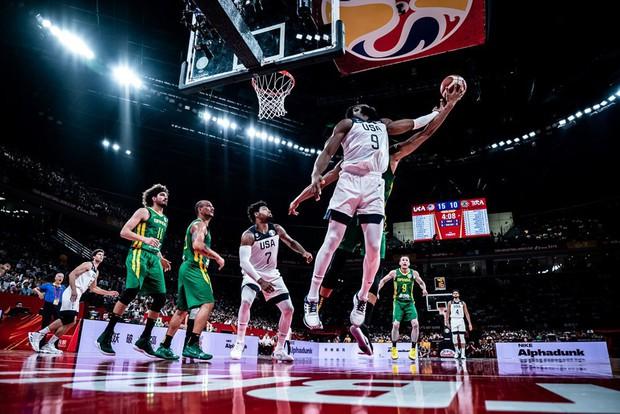 Kết quả ngày thi đấu 9/9 FIBA World Cup 2019: Cầu thủ xuất sắc nhất NBA 2019 về nước sớm, đội tuyển Mỹ thể hiện sức mạnh khủng khiếp - Ảnh 9.