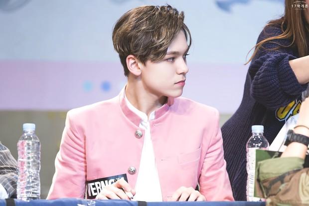 Góc nghiêng thần thánh của idol con lai Kpop: Nữ thần như Somi, Nancy có đọ được với Vernon, Samuel? - Ảnh 14.