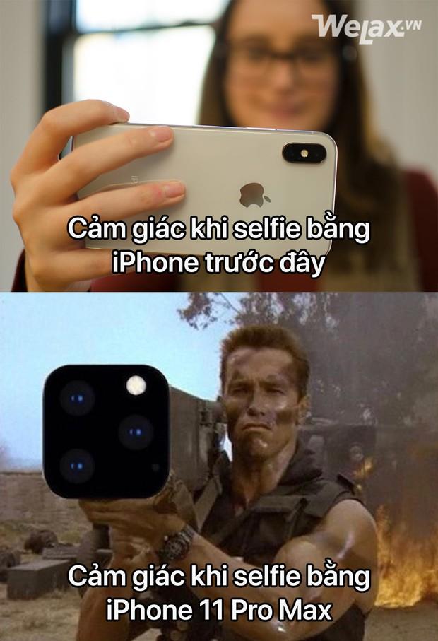 Trình làng chưa được 12 tiếng, cụm camera 3 ống kính to đùng ngã ngửa của iPhone 11 đã bị cộng đồng mạng gửi tặng nguyên một nồi ảnh chế - Ảnh 5.