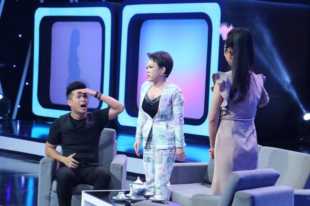 Trương Thế Vinh liên tục bị Việt Hương cà khịa trong show hẹn hò - Ảnh 1.